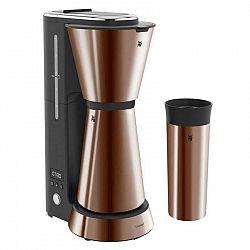 Kávovar WMF Kitchenminis® Aroma 412260051... Kávovar na pět šálků (s velikostí 125 ml) s termoskou z nerezové oceli, s cestovním termohrnkem, LCD obra