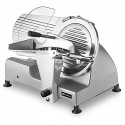 Krájač Catler FS 9010... V pevném kovovém těle se ukrývá 240W motor, který zajišťuje plynulý výkon velmi ostrého nerezového kotouče. S lehkostí naplát