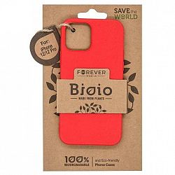 Kryt na mobil Forever Bioio na Apple iPhone 12/12 Pro červený...