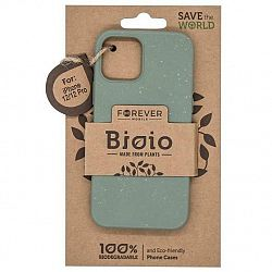 Kryt na mobil Forever Bioio na Apple iPhone 12/12 Pro zelený...