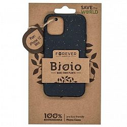 Kryt na mobil Forever Bioio na Apple iPhone 12 mini čierny...