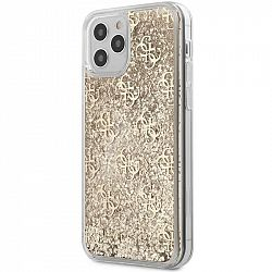 Kryt na mobil Guess 4G Liquid Glitter na Apple iPhone 12/12 Pro...