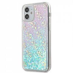 Kryt na mobil Guess 4G Liquid Glitter na Apple iPhone 12 mini -...
