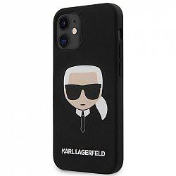 Kryt na mobil Karl Lagerfeld Head na Apple iPhone 12 mini čierny...
