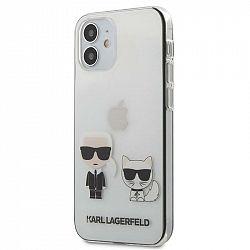 Kryt na mobil Karl Lagerfeld Karl &Choupette na Apple iPhone 12...