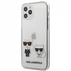 Kryt na mobil Karl Lagerfeld Karl &Choupette na Apple iPhone 12/12...