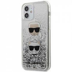 Kryt na mobil Karl Lagerfeld Liquid Glitter 2 Heads na Apple iPhone...