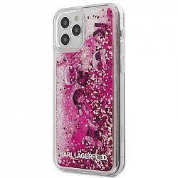 Kryt na mobil Karl Lagerfeld Liquid Glitter Charms na Apple iPhone...