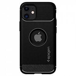 Kryt na mobil Spigen Rugged Armor na Apple iPhone 12 mini čierny...