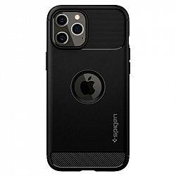 Kryt na mobil Spigen Rugged Armor na Apple iPhone 12 Pro Max čierny...