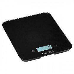 Kuchynská váha Concept VK5712 čierna... Digitální kuchyňská váha s funkcí hodin, minutky a budíku. Maximální nosnost 15 kg.