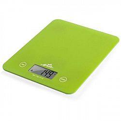 Kuchynská váha ETA Lori 2777 90010 zelen... Nadčasová, extra tenká kuchynská váha ETA Lori v zelenom prevedení váži do 5 kg s presnosťou 1 g, má prehľ