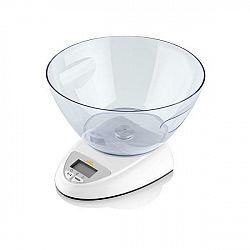 Kuchynská váha ETA Zori 7778 90000 biela... Digitálna kuchynská váha s plastovou miskou o objeme 2 litrov na váženie pevných a sypkých surovín, ale aj