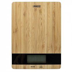 Kuchynská váha Princess 492944 hned... V bambusovém provedení, nosnost až 5 kg, funkce Tara.