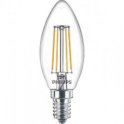 LED žiarovka Philips svíčka, 4,3W, E14, teplá bílá, 3ks...