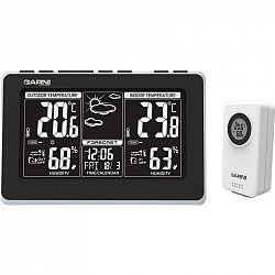 Meteorologická stanica Garni 560 Easy II čierna/strieborn... Meteorologická stanice, LCD inverzní displej, měří vlhkost, teplotu, 13 ikon předpovědi p
