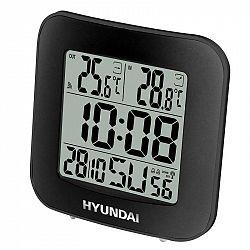 Meteorologická stanica Hyundai WS 7236 čierna... Meteorologická stanica, vnútorná a vonkajšia teplota, LCD displej, čas riadený rádiovým signálom