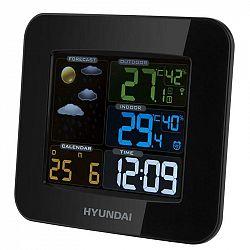 Meteorologická stanica Hyundai WS8446 čierna... Meteorologická stanica, vnútorná aj vonkajšia teplota, predpoveď počasia