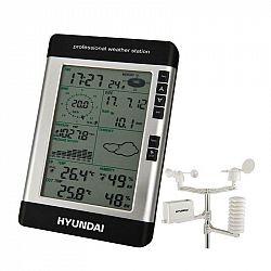 Meteorologická stanica Hyundai WSP 3080 R Wind, s vetromerom a... Profesionálna domáca meteostanica s kompletnou predpoveďou meria a zobrazuje tiež ro