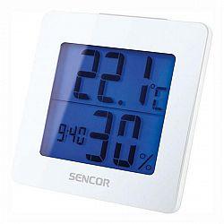 Meteorologická stanica Sencor SWS 1500 W biela (35049764... Meteorologická stanica, vnútorná teplota a vlhkosť, budík, kalendár, LCD displej s krátkod