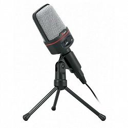 Mikrofón C-Tech MIC-02 čierny (MIC-02...