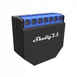 Modul Shelly 2.5, spínací/žaluziový modul s měřením spotřeby 2x 10A...