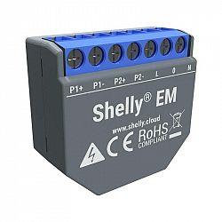 Modul Shelly EM, měření spotřeby až 2x 120 A, 1 výstup (Shelly-EM...