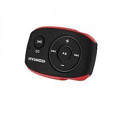 MP3 prehrávač Hyundai MP 312 GB8 BR čierny/červen... Prenosný MP3 prehrávač, interná pamäť 8 GB, MP3, WMA, prednastavené ekvalizéry