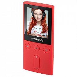 """MP3 prehrávač Hyundai MPC 501 GB4 FM R červen... Prenosný MP3/MP4 prehrávač, 1,8"""" LCD displej, pamäť 4 GB, JPG, MP3, WMA, AMV, FM tuner, Micro SD kart"""