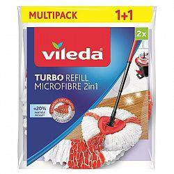 Návlek na mop Vileda Turbo 2v1 (166142... Třásňová náhrada k Easy Wring and Clean a Vileda TURBO.