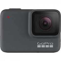 Outdoorová kamera GoPro Hero 7 Silver (Chdhc-601-RW... Outdoorová kamera 4K (3840x2160)/30 fps, 10 Mpx foto, voděodolnost do 10 m, dotykový dislpej, s