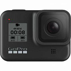 Outdoorová kamera GoPro Hero 8 Black... Outdoorová kamera 4K (3840x2160)/240 fps, 12 Mpx foto, vodotesná do 10 m, stabilizácia obrazu HyperSmooth 2.0,