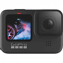 Outdoorová kamera GoPro Hero 9 Black... Outdoorová kamera 5K/30 fps, 20 Mpx foto, úhel záběru 132°, elektronická stabilizace obrazu, voděodolná i bez