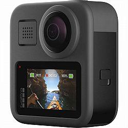 Outdoorová kamera GoPro MAX... Outdoorová kamera 5.6K/60 fps, 16,6 Mpx foto, vodotesná do 10 m, uhol záberu 360°, stabilizácia obrazu Max HyperSmooth,