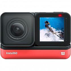Outdoorová kamera Insta360 ONE R (4K Edition) čierna/červen... Outdoorová kamera 4K (3840x2160)/60 fps, 12 Mpx foto, voděodolnost do 5 m, šestiosý gyr