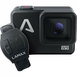 Outdoorová kamera Lamax W9 čierna... Outdoorová kamera 4K (3840x2160)/30 fps, 16 Mpx foto, voděodolnost do 12 m, EIS elektronická stabilizace obrazu,