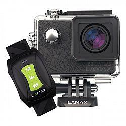 Outdoorová kamera Lamax X3.1 Atlas čierna... Outdoorová kamera, nativní 2,7K 30fps video, Full HD 60 fps, náramkový dálkový ovladač, úhel záběru až 16