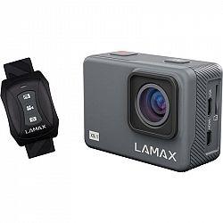 Outdoorová kamera Lamax X9.1 siv... Outdoorová kamera 4K (3840x2160)/30 fps, 12 Mpx foto, voděodolnost do 40 m (s pouzdrem), úhel záběru 170°, gyro a