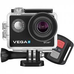 Outdoorová kamera Niceboy Vega 6 star čierna... Outdoorová kamera 4K (3840x2160)/24 fps, 16 Mpx foto, voděodolnost do 30 m (s pouzdrem), úhel záběru 1