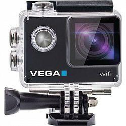 Outdoorová kamera Niceboy Vega Wi-Fi čierna... Outdoorová kamera Full HD (1920x1080)/30 fps, 12 Mpx foto, voděodolnost do 30 m (s pouzdrem), úhel zábě