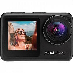 Outdoorová kamera Niceboy Vega X PRO čierna... Outdoorová kamera 4K (3840x2160)/60 fps, 20 Mpx foto, voděodolnost do 12 m/do 30 m s pouzdrem, úhel záb