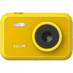 Outdoorová kamera Sjcam F1 Fun Cam žlt... Outdoorová kamera pro nejmladší generaci, Full HD (1920x1080)/60 fps, 12 Mpx foto, CZ menu, funkce: Časosběr