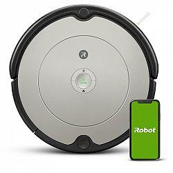 Robotický vysávač iRobot Roomba 698... Velikost uklízené plochy až 100 m2, hmotnost 3,54 kg, doba nabíjení asi 2 hodiny.