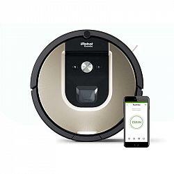 Robotický vysávač iRobot Roomba 976... Špičkový model Roomba 976, přesná navigace, Smart, odložený úklid, úklid až 185 m2.