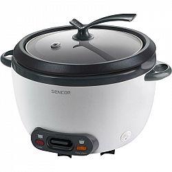 Ryžovar Sencor SRM 1810WH biely... Napařovací koš pro vaření v páře, vnitřní nádoba s nepřilnavým povrchem, funkce Keep Warm, objem 1,8 l (1 500 g nev