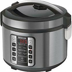 Ryžovar Sencor SRM 3150SS... Speciální hrnec na vaření rýže, 11 speciálních funkcí vaření.