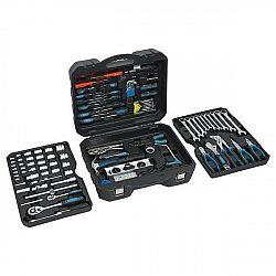 Sada náradia Compass Professional, 257 ks (09455... Profesionální přenosný kufr vybavený 257 díly kvalitního nářadí přehledně uspořádaného v předem ur