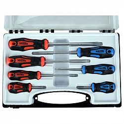 Sada skrutkovačov Extol Premium 7 ks, 8819257... Praktická sada 4 ks plochých a 3 ks křížových (PH) šroubováků pro univerzální použití v domácnosti či