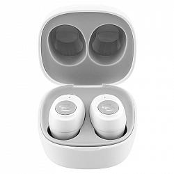 Slúchadlá Gogen TWS Buddies biela (Twsbuddiesw... True Wireless Stereo sluchátka GoGEN, Bluetooth® v 5.0, výdrž baterie 4 + 12 hodin, IPX4, nabíjecí p