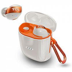 Slúchadlá TCL Actv500tws biela/oranžová (Actv500twswt-RU...